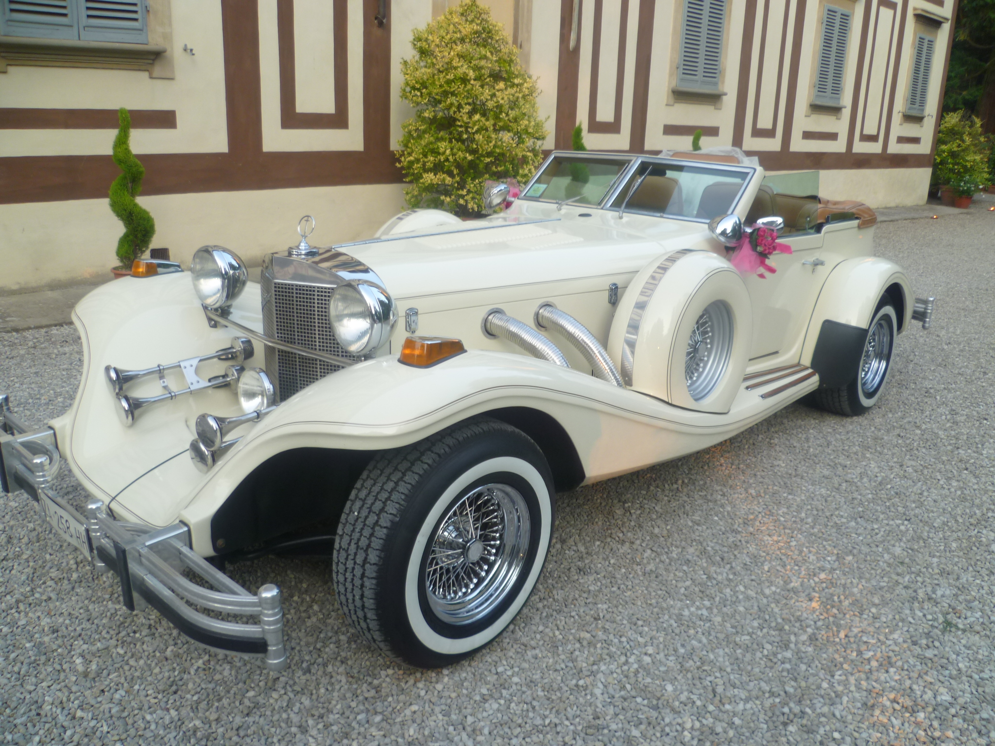 Auto Matrimonio Toscana : Excalibur phaeton cabrio